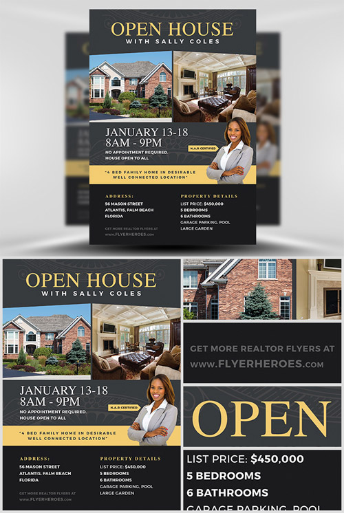 Flyer Template - Open House 2