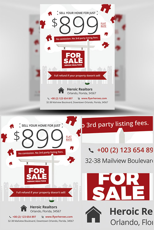 Flyer Template - Realtor Promotion