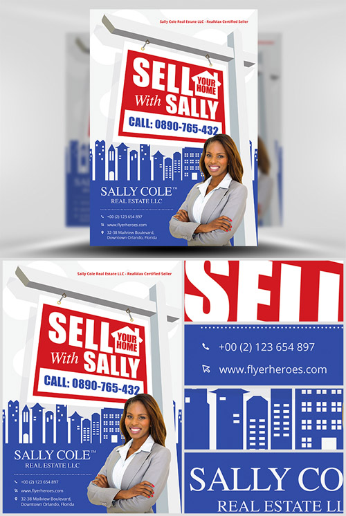 Realtor Flyer Template - Sell Your Home