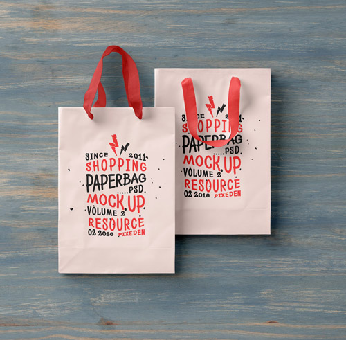 Shopping Bag Mockup Vol 2