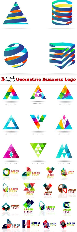 Vectors - Geometric Business Logo