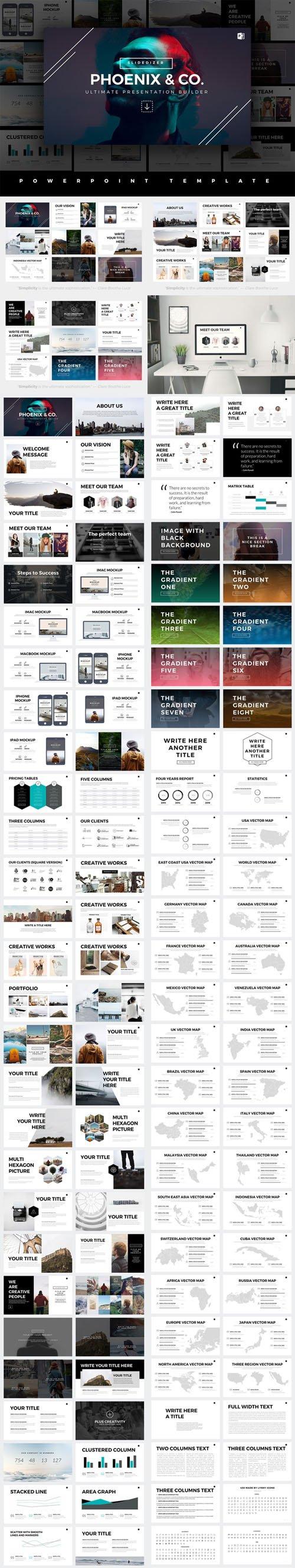 Phoenix minimal powerpoint template creativemarket 520487 phoenix minimal powerpoint template creativemarket 520487 toneelgroepblik Gallery