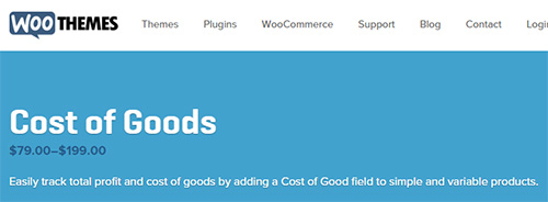 WooThemes - WooCommerce Cost of Goods v2.0.0