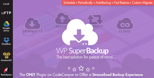 CodeCanyon - Super Backup & Clone v1.7 - Migrate for WordPress - 12943030