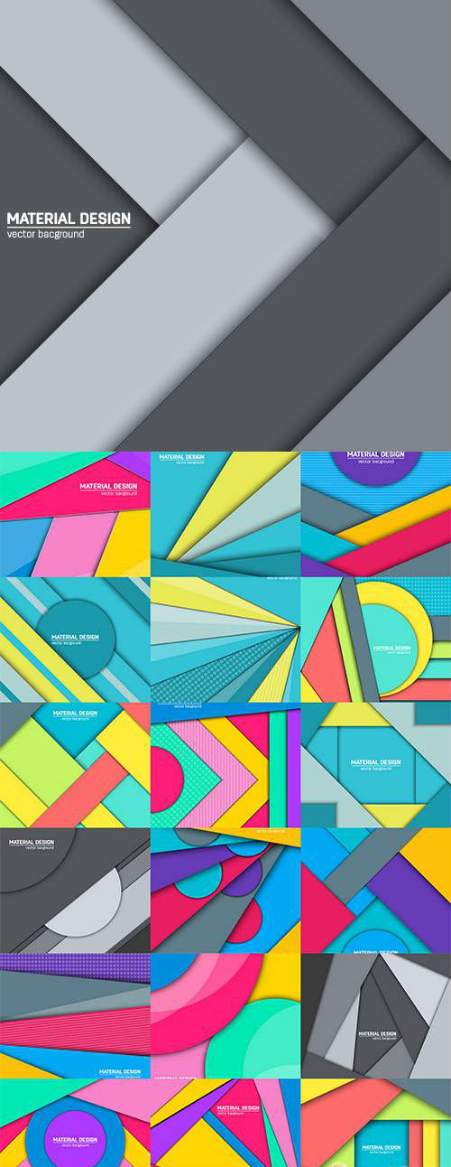 Vector Multicolored layers background 3