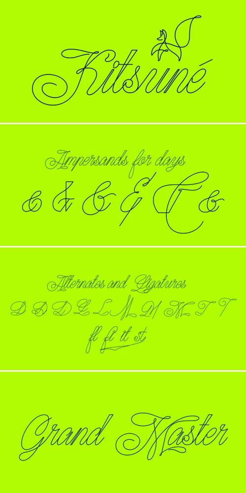 Kitsune Font