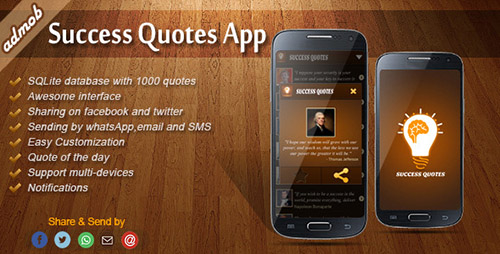 CodeCanyon - Success Quotes v1.5 - Android Template - 6297007
