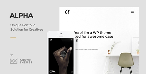 ThemeForest - Alpha v1.0.2 - The Unique Portfolio Theme for Creatives - 14644982