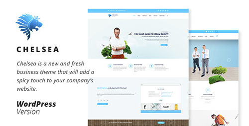 ThemeForest - Chelsea v1.0 - Multi-Purpose Business WordPress Theme - 14556819