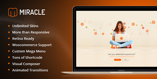 ThemeForest - Miracle v1.2.2 - Responsive Multi-Purpose WordPress Theme - 11491087