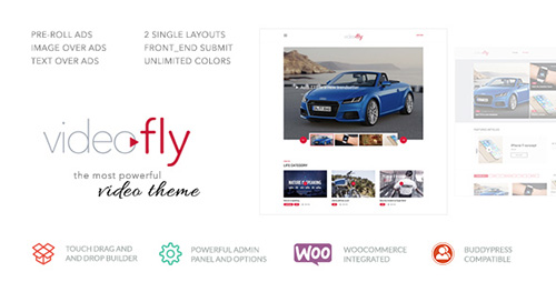ThemeForest - Videofly v1.0 - Video Sharing & Portal Theme - 14139083