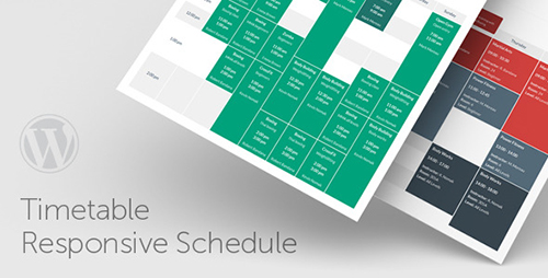 CodeCanyon - Timetable Responsive Schedule For WordPress v3.7 - 7010836