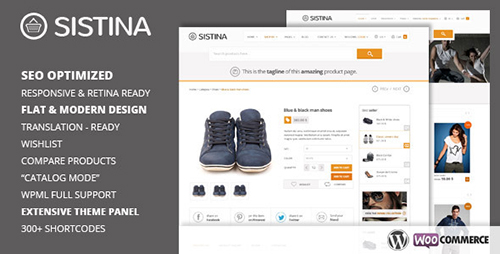 ThemeForest - Sistina v1.8.5 - Flat Multipurpose Shop Theme - 5220602