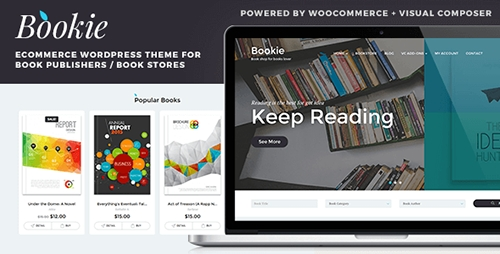 ThemeForest - Bookie v1.1.2 - WordPress Theme for Books Store - 13377863