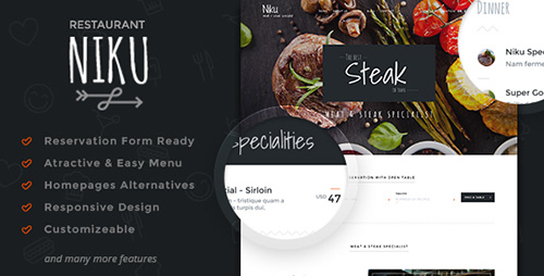 ThemeForest - Niku v1.0.6 - Restaurant & Food Menus WooCommerce Theme - 13739704
