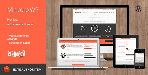 ThemeForest - Minicorp WP v2.1 - Not Just a Corporate Theme - 4772976