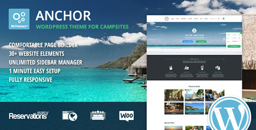 ThemeForest - Anchor v1.53 - Hotel Theme with Reservation System - 9199120
