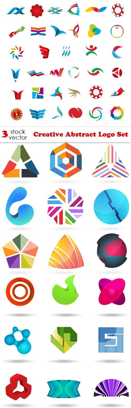 Vectors - Creative Abstract Logo Set