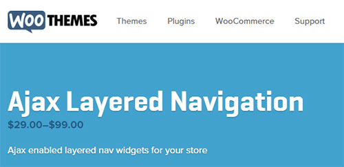 WooThemes - WooCommerce Advanced Ajax Layered Navigation v1.3.17
