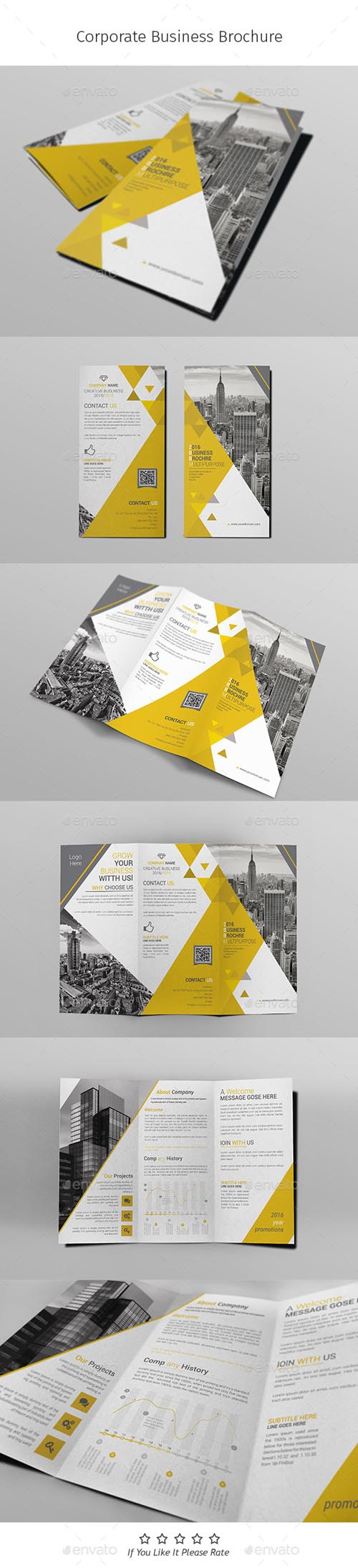 A4 Corporate Business Flyer Template Vol 10 14779666