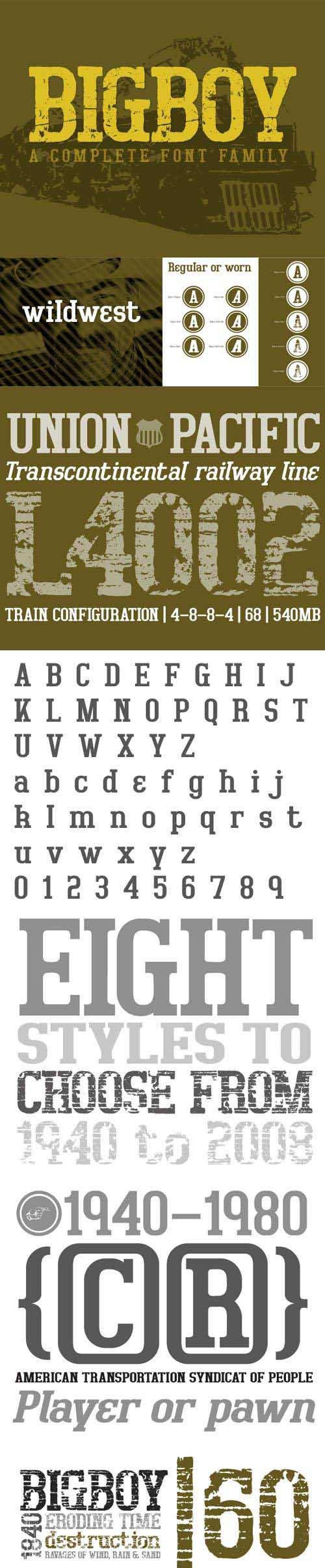 Font - Bigboy