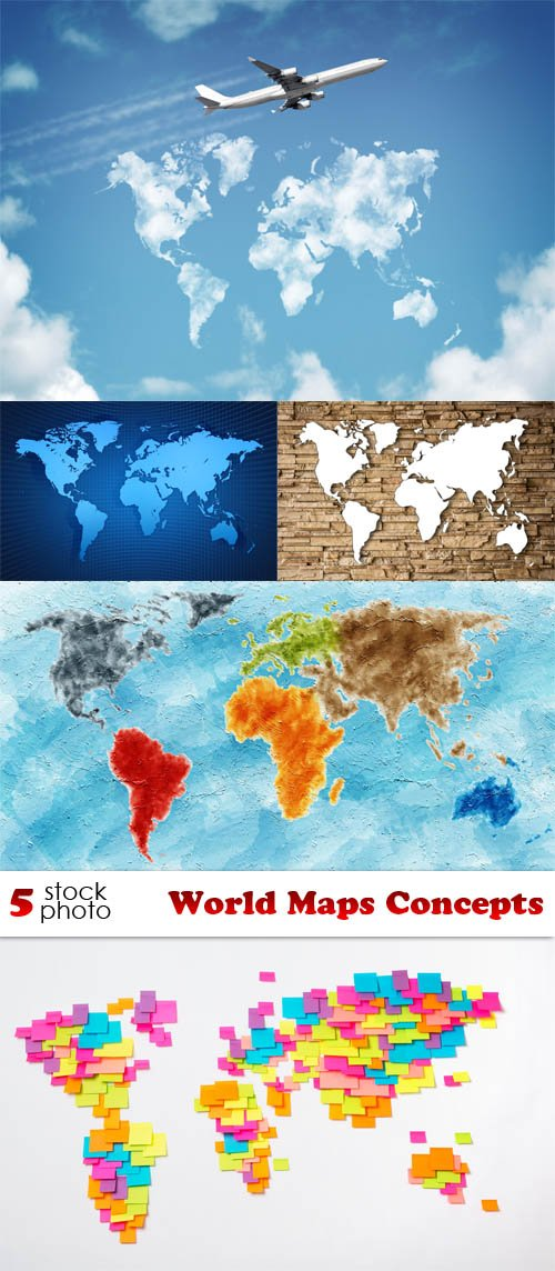 Photos - World Maps Concepts