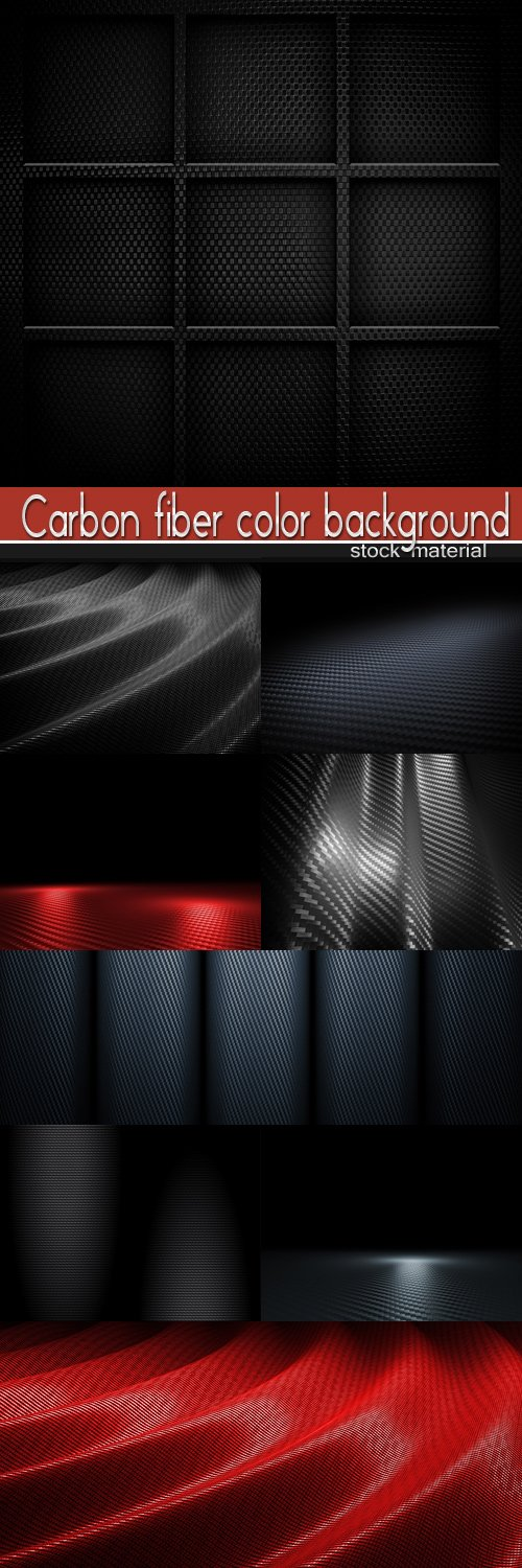 Carbon fiber color background
