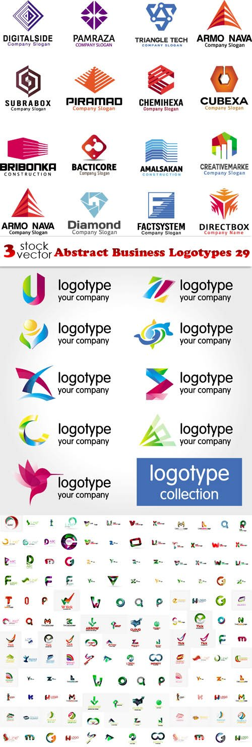 Vectors - Abstract Business Logotypes 29