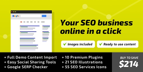 ThemeForest - SEO WP v1.8.4 - Online Marketing, SEO, Social Media Agency - 8012838