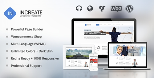 ThemeForest - inCreate v1.1.7 - Responsive MultiPurpose WordPress Theme - 6925109