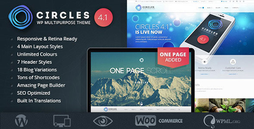 ThemeForest - Responsive WordPress MultiPurpose Theme - Circles v4.7 - 4739370