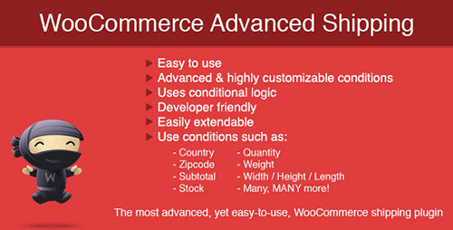 CodeCanyon - WooCommerce Advanced Shipping v1.0.9 - 8634573