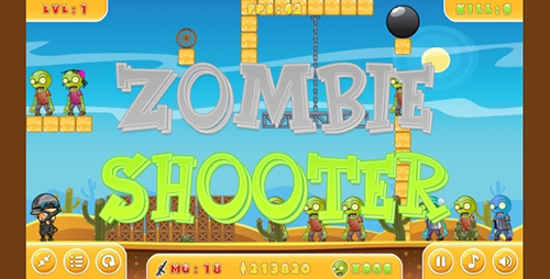 CodeCanyon - Zombie Shooter - HTML5 Game + Mobile (Capx