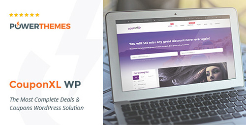 ThemeForest - CouponXL v3.6 - Coupons, Deals & Discounts WP Theme - 10721950