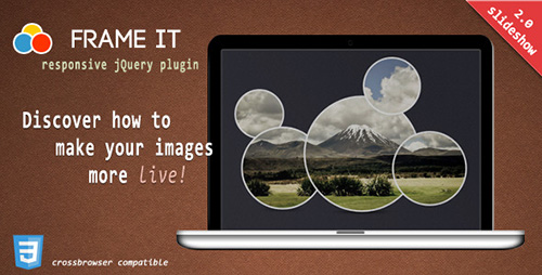 CodeCanyon - FrameIt v2.1 - Responsive jQuery Plugin - 3150234