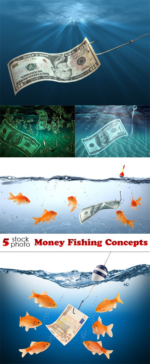 Photos - Money Fishing Concepts
