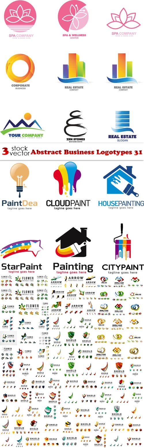 Vectors - Abstract Business Logotypes 31