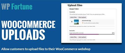 WPFortune - WooCommerce Uploads v1.3.0