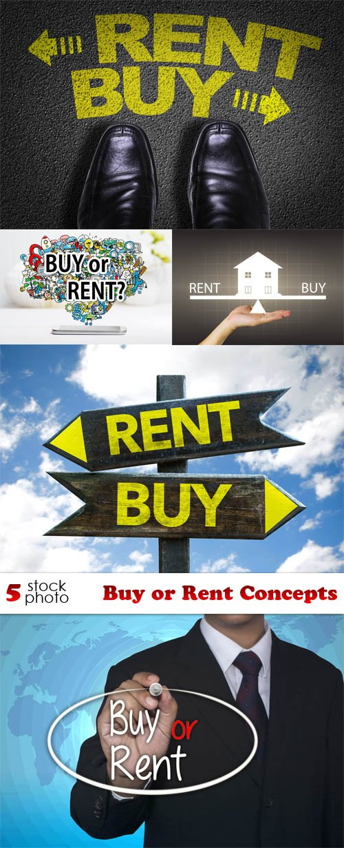 Photos - Buy or Rent Concepts