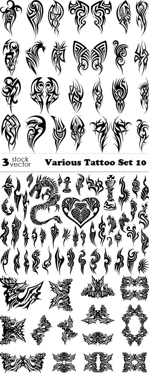 Vectors - Various Tattoo Set 10