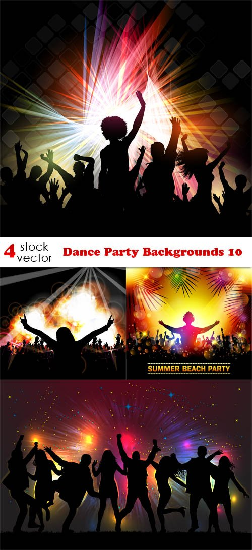 Vectors - Dance Party Backgrounds 10