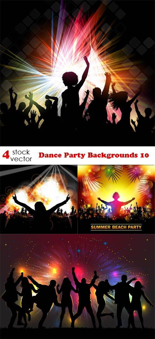 Vectors - Dance Party Backgrounds 10