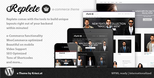 ThemeForest - Replete v4.0 - e-Commerce and Business - 3519946