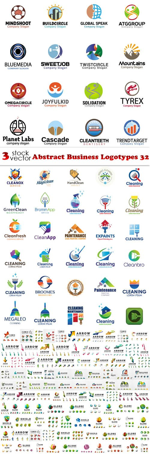 Vectors - Abstract Business Logotypes 32