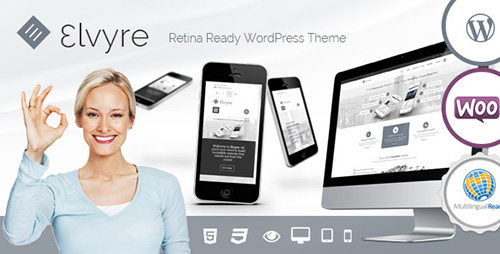ThemeForest - Elvyre v1.8 - Retina Ready WordPress Theme - 7966500