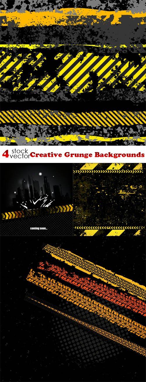 Vectors - Creative Grunge Backgrounds