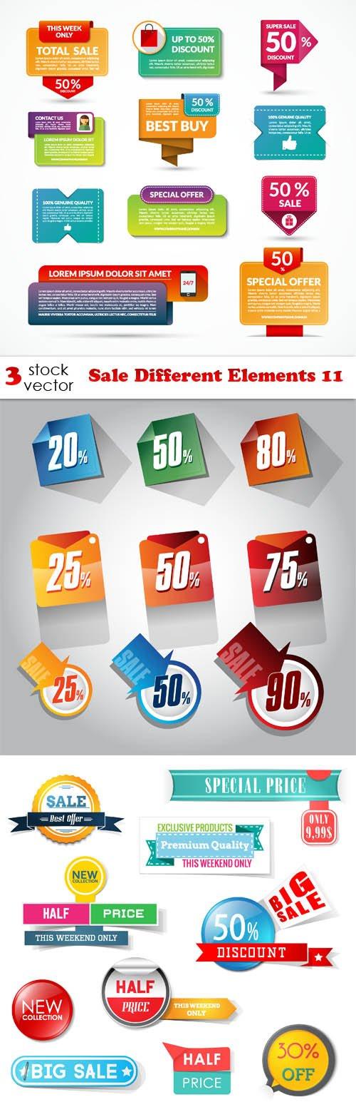 Vectors - Sale Different Elements 11