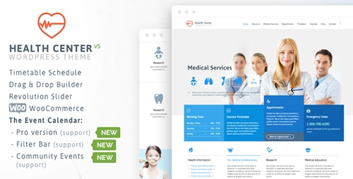 ThemeForest - Health Medical Care v14 - Theme for Medical Health and Dentist Center Clinic - 7322125