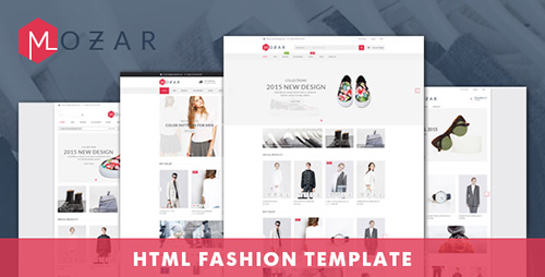ThemeForest - Mozar v1.0 - Fashion Clothing Bootstrap Template - 15319096