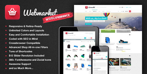 ThemeForest - Webmarket v2.3.10 - WP Theme for Advanced Online Shops - 6437728